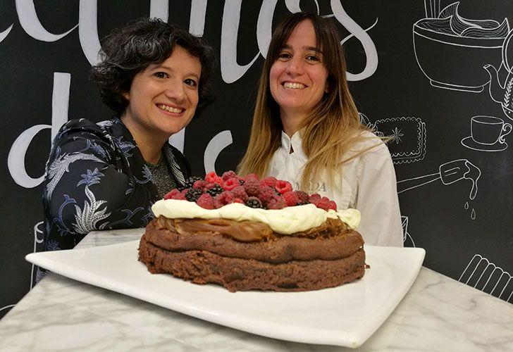 Marquise de chocolate con frutos rojos por Juliana Herrera