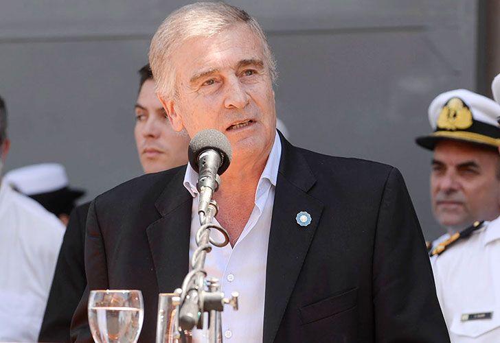Ministro de defensa, Oscar Aguad