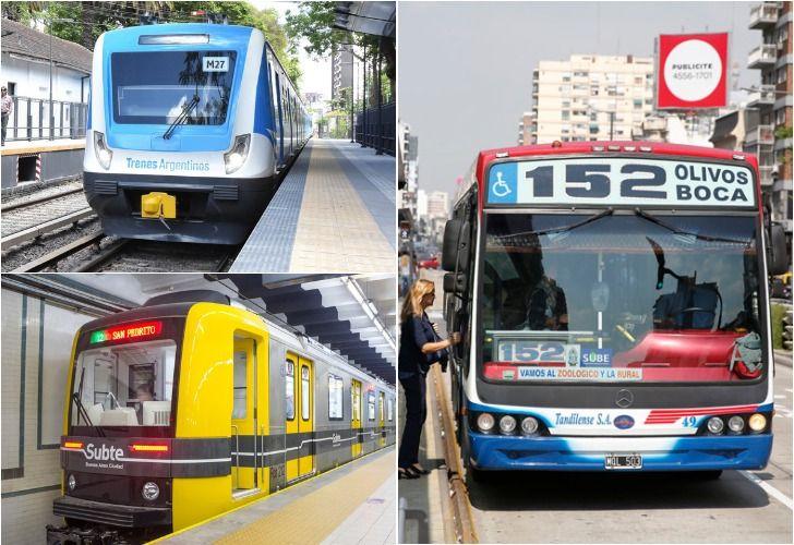 El Gobierno anunció un aumento en el transporte.