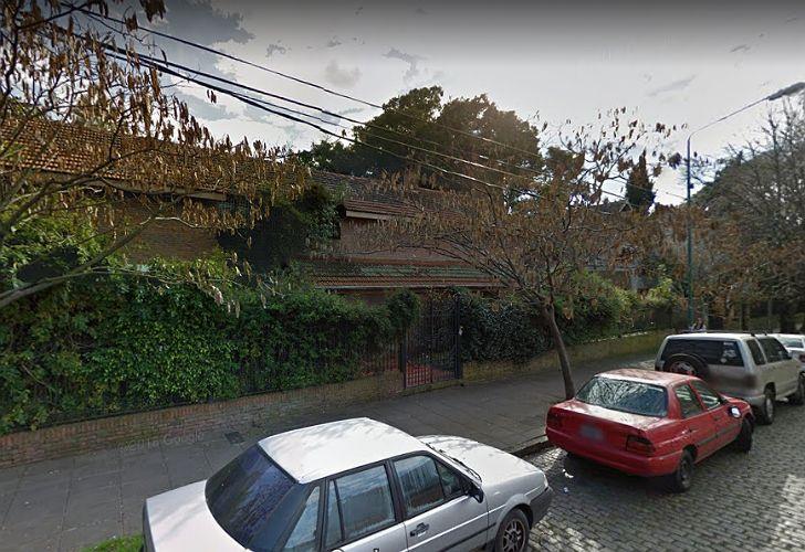 En esta vivienda de Olivos cumple arresto domiciliario el sindicalista Omar Caballo Suárez.