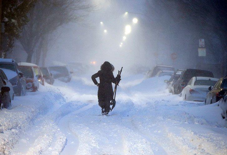 Estados Unidos enfrenta unas de las peores nevadas en su historia