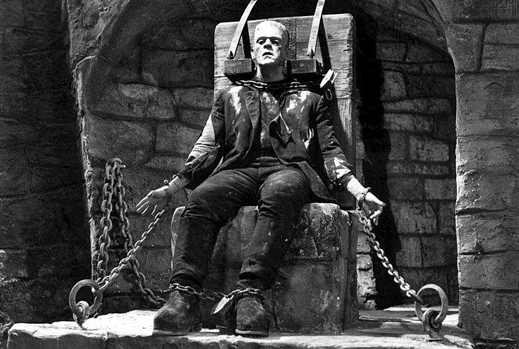 'Frankenstein'. La primera edición del libro se publicó anónimamente y se atribuyó a Percy Shelley.