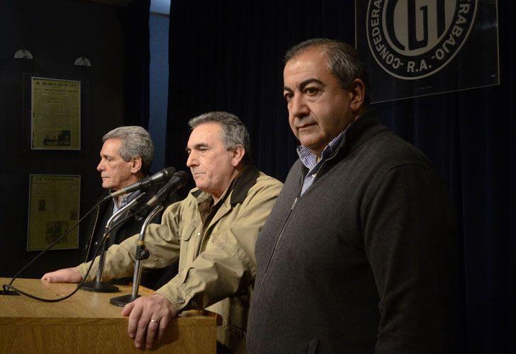 El Triunvirato de la CGT.