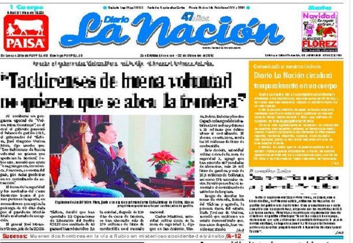 El diario La Nación comenzó a imprimirse en Venezuela en 1968. Hoy sólo estará en versión web.