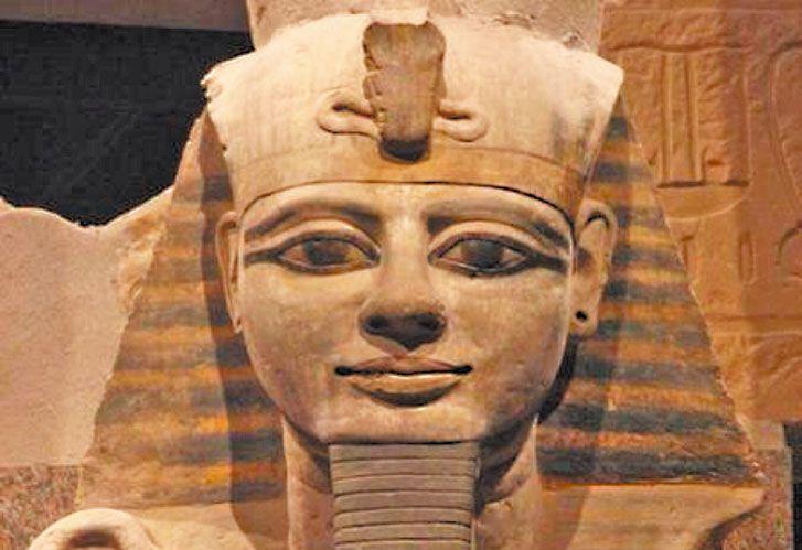 TRAMPOSO. Ramsés II no fue un guerrero ganador, pero…