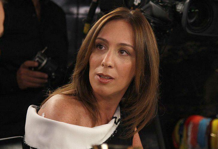 María Eugenia Vidal, en el programa de Mirtha Legrand desde Mar del Plata.