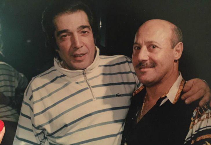 Lorena Martins reveló una vieja foto de Cacho Castaña junto al ex espía de la SIDE, Raúl Martins.
