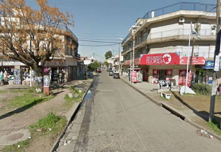 Florida y Ruta 8, hacia Río de la Plata: este domingo dos motochorros balearon a una mujer