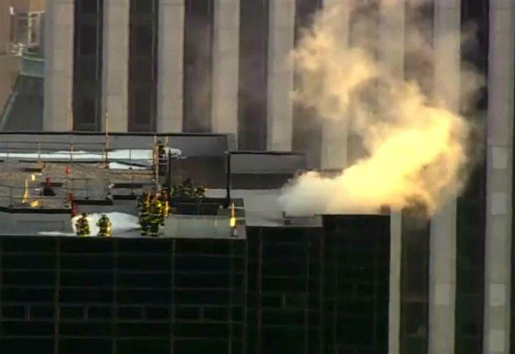 Incendio en la Trump Tower.