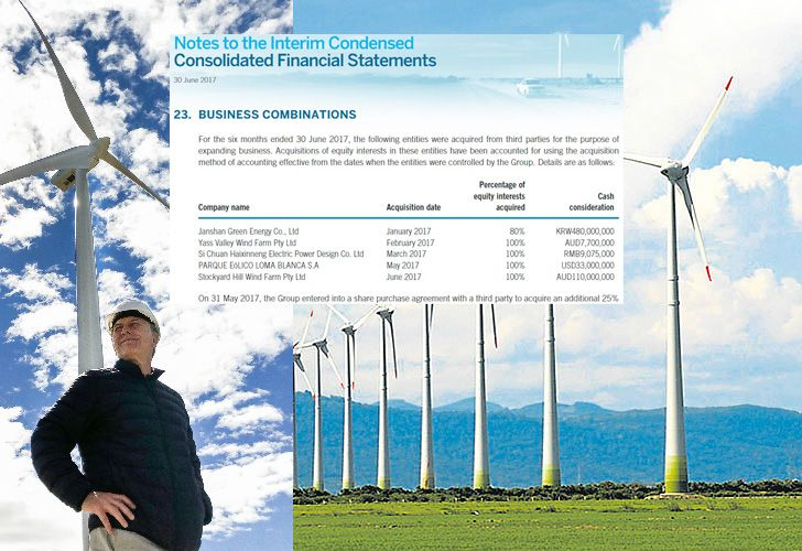 Las inversiones en energías renovables fueron desde el comienzo una de las apuestas fuertes del gobierno de Mauicio Macri. También de su familia.