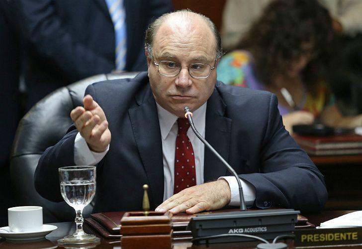 Miguel Piedecasas, presidente del Consejo de la Magistratura.