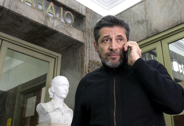 Víctor Santa María, sindicalista y empresario.