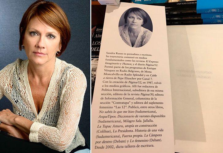 La escritora y actual periodista de Página/12 mostró su flamante libro de cuentos publicado por la Editorial Sudamericana, que tiene a las mujeres como protagonistas, con temáticas como la maternidad, la amistad y el amor.