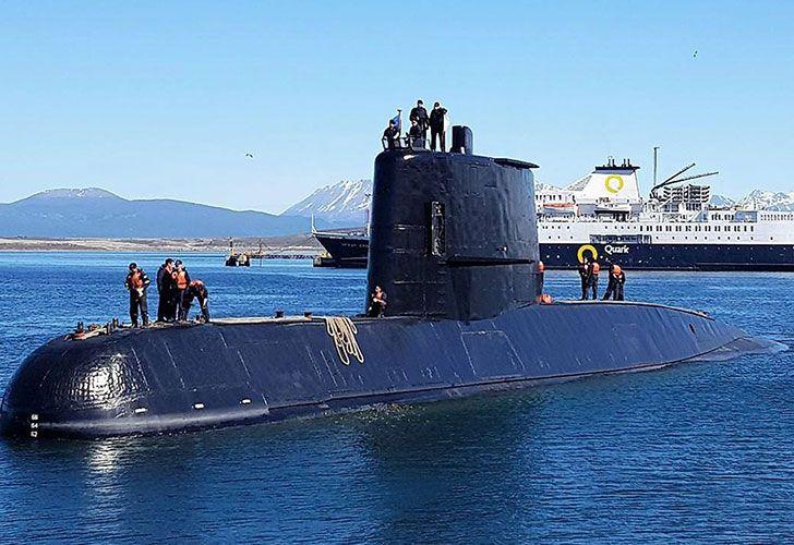 Una de las últimas fotos del submarino desaparecido hace casi dos meses.