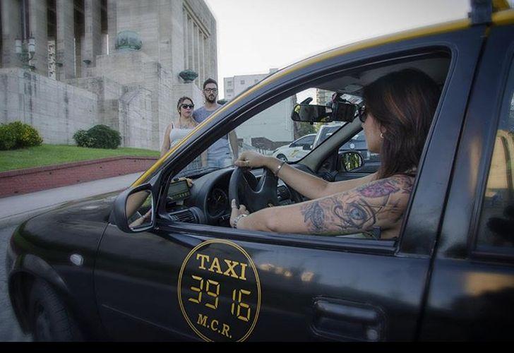 La aplicación para tomar taxi con conductoras al volante.