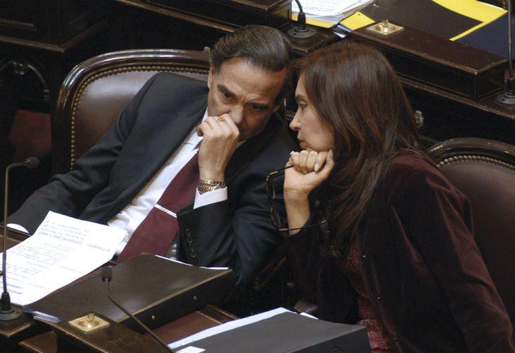 Imagen de archivo | Miguel Ángel Pichetto junto a Cristina Fernández de Kirchner.