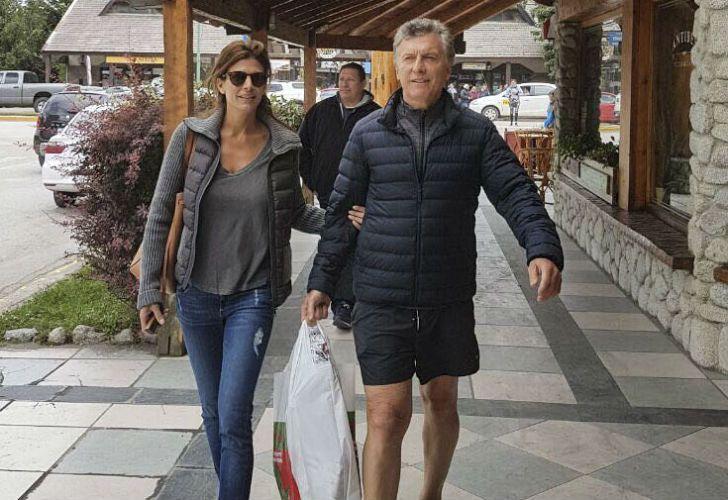 Mauricio Macri vacaciona junto a su familia en Villa La Angostura.