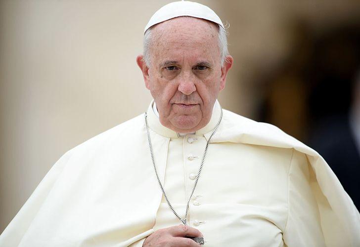 Fotografía del Papa Francisco intervención Sodalicio