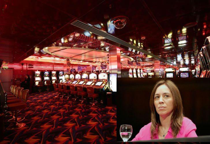 La gobernadora María Eugenia Vidal ordenó el cierre de tres casinos.