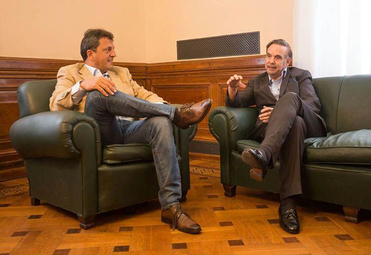 Sergio Massa y Miguel Ángel Pichetto