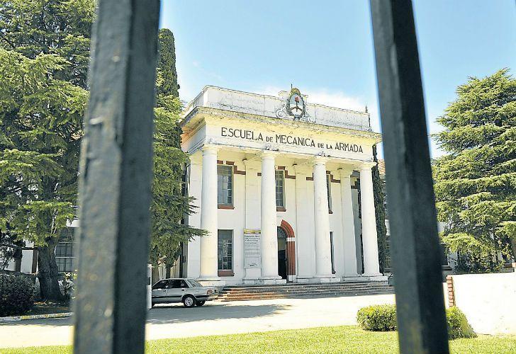 la ESMA funcionó como un centro clandestino de detención durante la última dictadura.