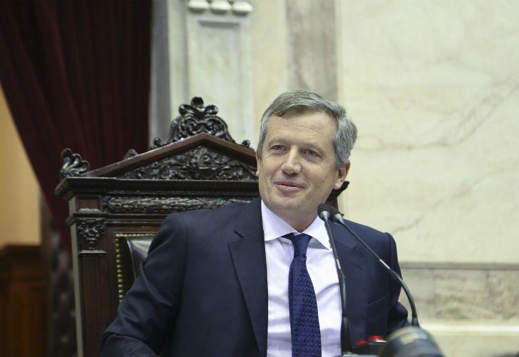 El presidente de la Cámara de Diputados, Emilio Monzó.