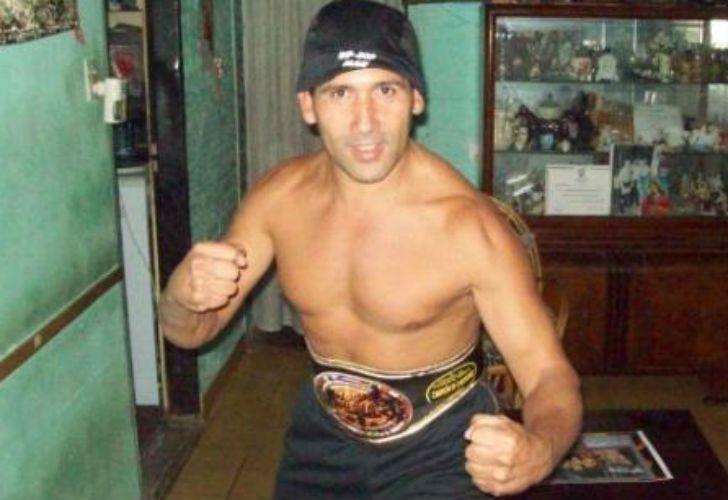 El luchador Demetrio Garcilazo