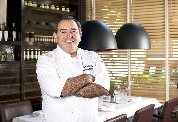 Gastón Riveira, cocinero y fundador de la Cabrera
