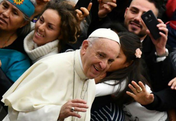 El Papa Francisco llegará a Chile el 15 de enero y permanecerá allí tres días.