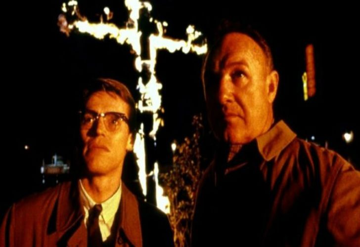 William Defoe y Gene Kackman, en una escena de la película.