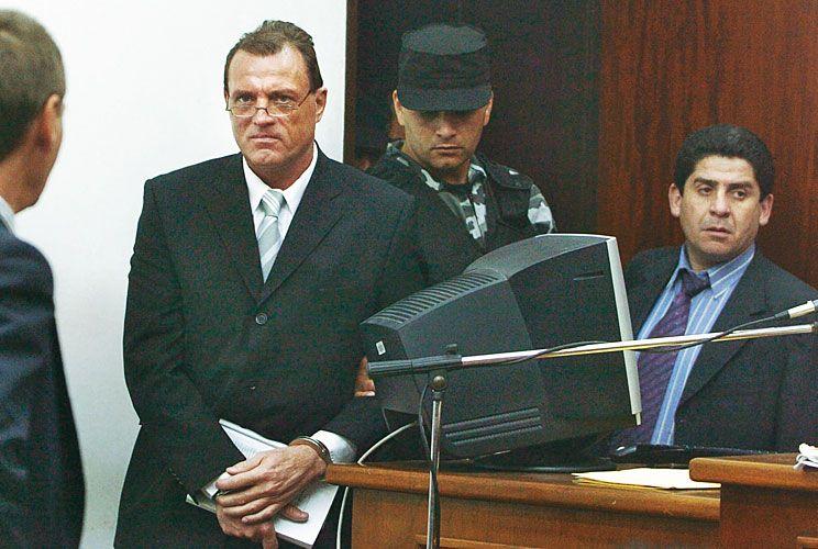 Última foto. Es de noviembre de 2005, cuando fue condenado a 24 años y nueve meses de cárcel.