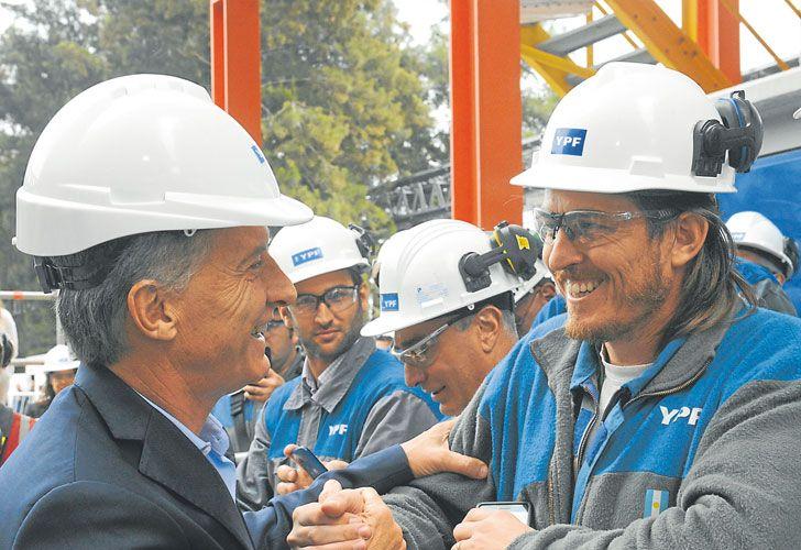 Petroleros. Habrá foto del Presidente en la primera semana de febrero en Casa Rosada.