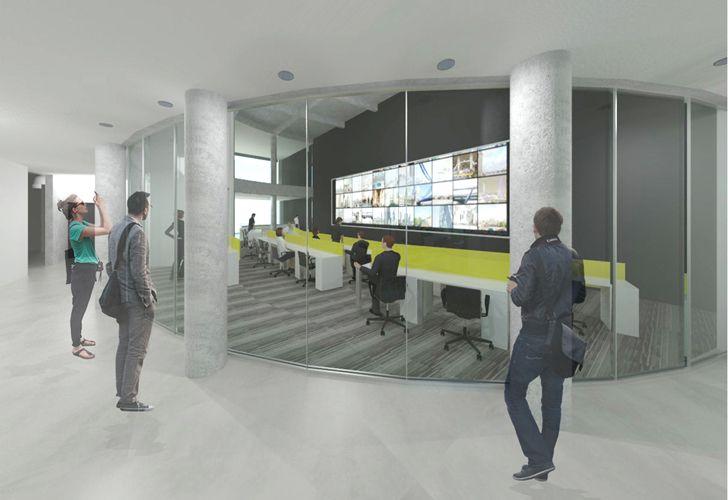 El futuro centro de monitoreo estará equipado con componentes de última tecnología. Allí se centralizará el manejo y coordinación de los equipos controladores de tránsito de la Ciudad.
