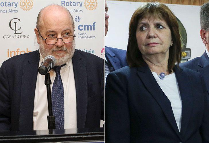 Amenazas contra el juez Claudio Bonadio y la ministra de Seguridad, Patricia Bullrich