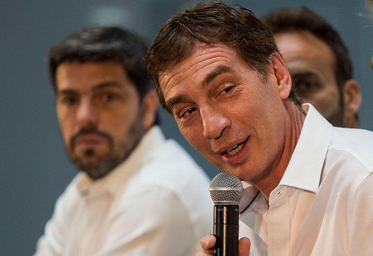 El vicejefe de Gobierno porteño. Diego Santilli