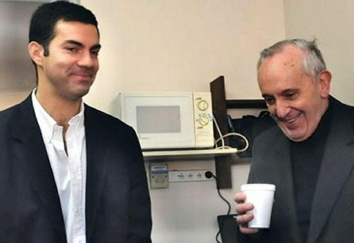 Juan Manuel Urtubey tiempo atrás con Jorge Bergoglio