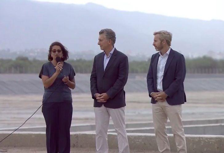 Mauricio Macri de visita en Catamarca
