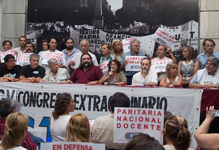 Ctera denunciará ante la OIT el decreto que modificó la paritaria nacional docente