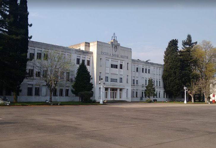 La Escuela Naval Militar Río Santiago, en Ensenada.