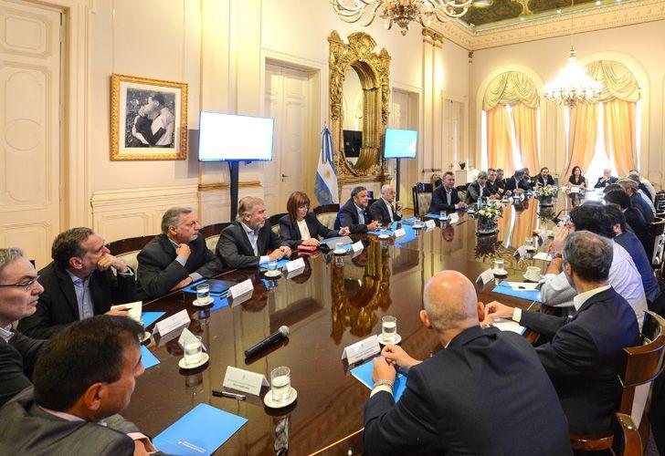 Será la segunda reunión que realice Macri tras volver de sus vacaciones el lunes pasado.