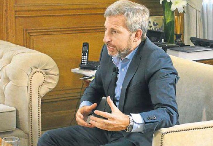 Rogelio Frigerio pidió que en las negociaciones se tenga en cuenta el objetivo de bajar la inflación.