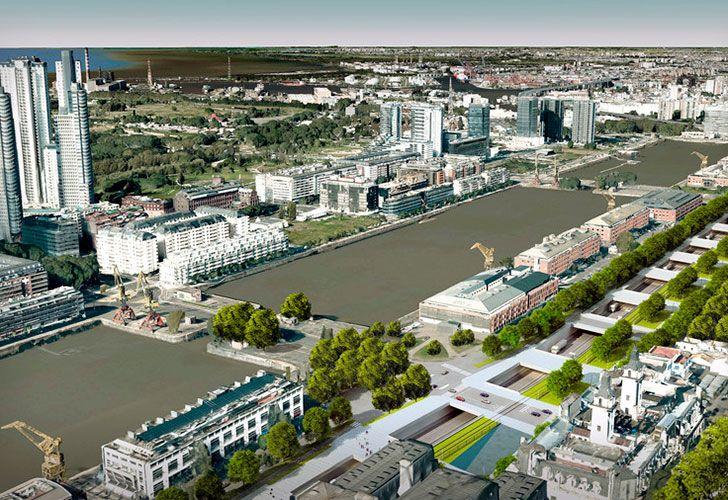 El nuevo corredor vial conectará de manera ágil el sur y el norte de la Ciudad, además de crear nuevos espacios verdes y de recreación para el vecino