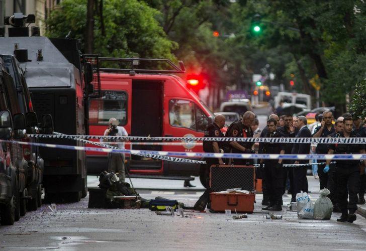Aparecieron dos explosivos en el Departamento Central de Policía Federal