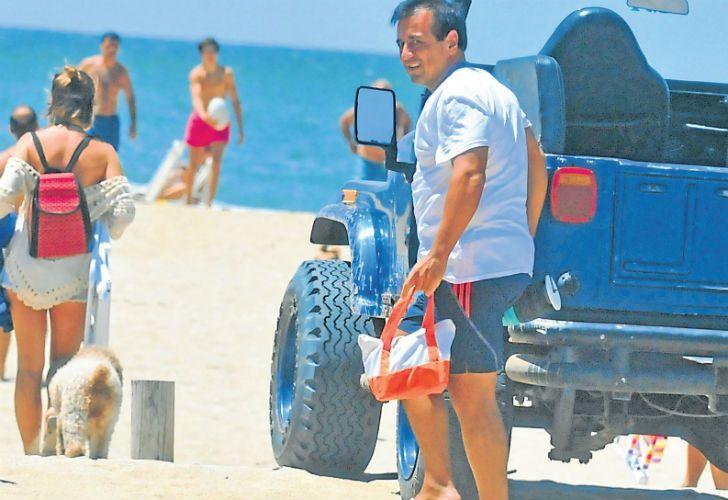 Vacaciones. Mario Quintana se fue esta semana a Cariló, donde tiene una casa de US$ 2,5 millones.