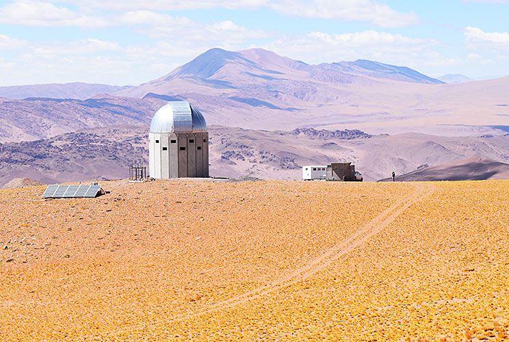 Avance. Comenzaron a llegar a Salta las primeras piezas del telescopio Llama, que se instalará en Altos Chorrillos.