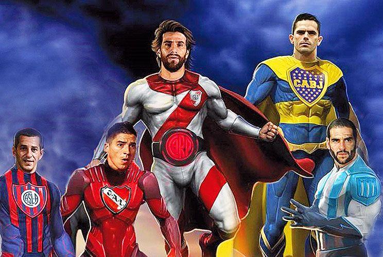 Metáfora de nuestro tiempo. La imagen con la que se presentó la Superliga, dominada por Boca y River.