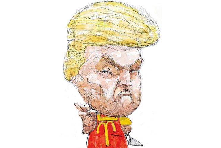 EMPLEADO DEL MES, Donald Trump.