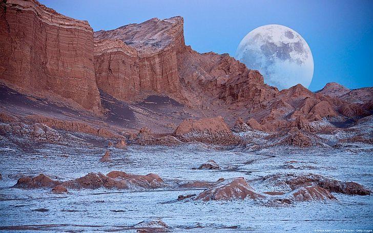 IMPACTANTE. El Valle de la Luna, uno de los atractivos de la travesía La Puna 9/40, que se desarrolla a 4 mil metros sobre el nivel del mar.