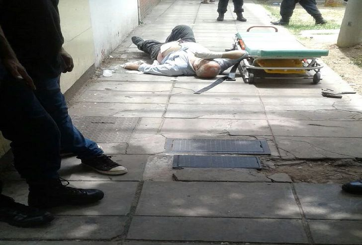 Roberto Cavana fue baleado a la salida de un supermercado en Quilmes.