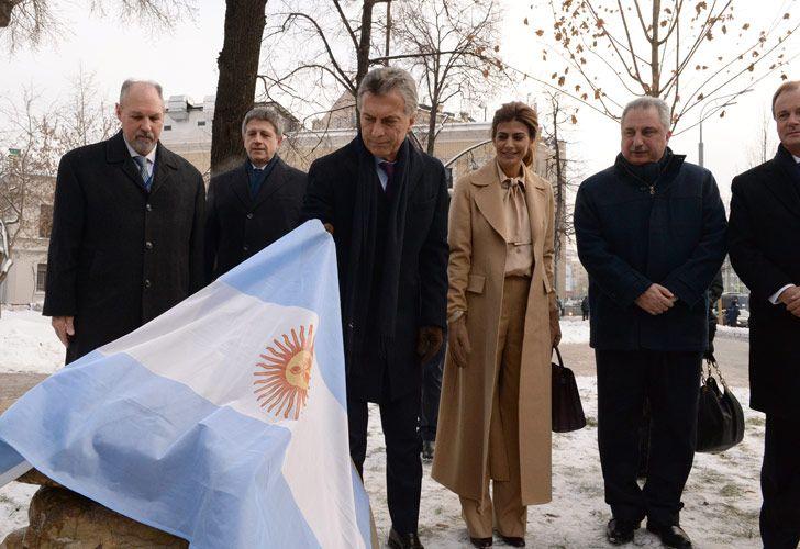 Macri de gira por Rusia